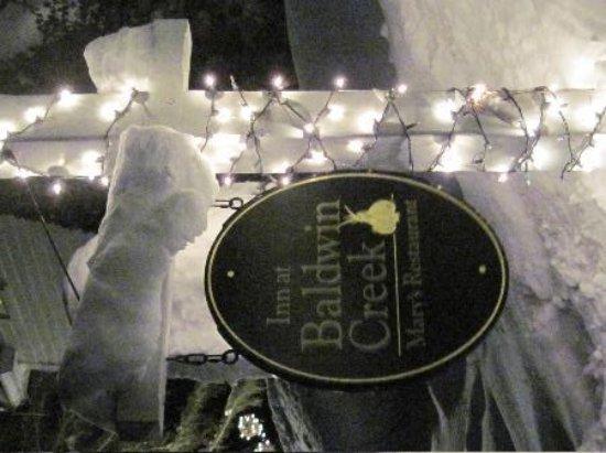 Bristol, Vermont: A little snow to brighten your stay...