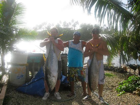 Captain Moko's Fishing Charters: our days catch