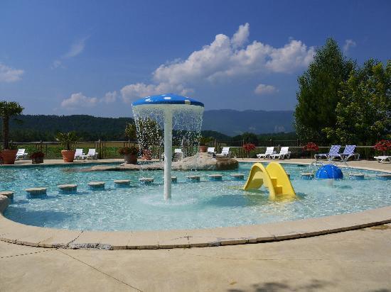 Drome, France: piscine