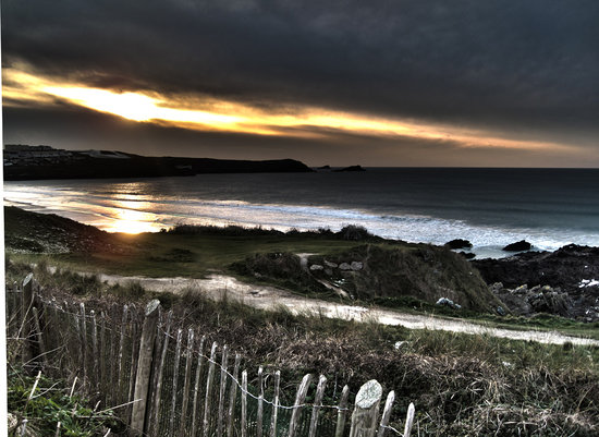 The Headland Hotel & Spa - Newquay: The view from the cottage patio