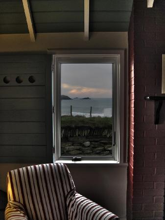 The Headland Hotel & Spa - Newquay: Looking out the Cottage Window