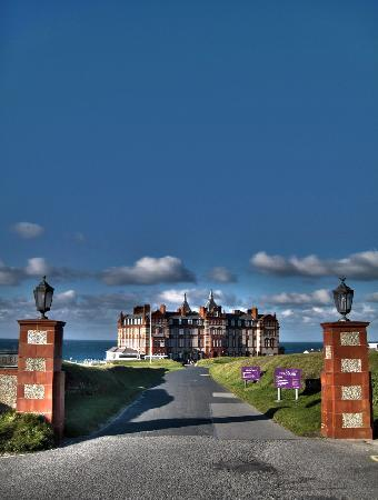 The Headland Hotel & Spa - Newquay: The Headland Entrance