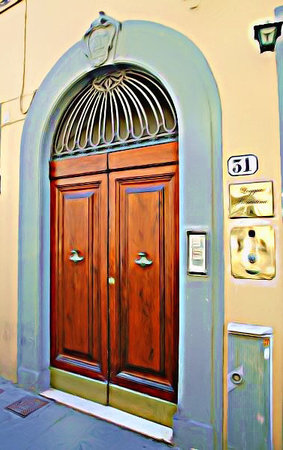 Loggia Fiorentina: Our door