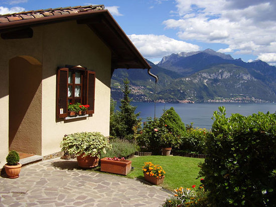 Menaggio, Italy: Vista sul Lago di Como dal giardino