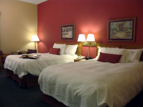 Hampton Inn Mobile I-10/Bellingrath Gardens: Comfortable Double beds provide a great night's sleep