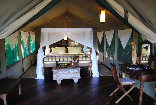 Kungwe Beach Lodge Luxury Tented Chalet
