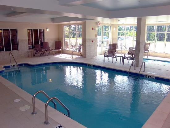 Meridian, MS: Our indoor pool is perfect in any weather