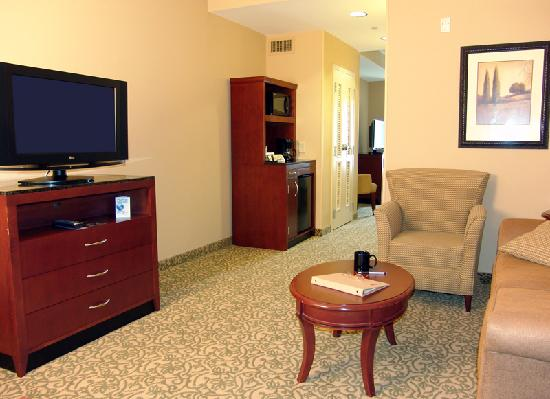 Meridian, MS: The living area of our suites
