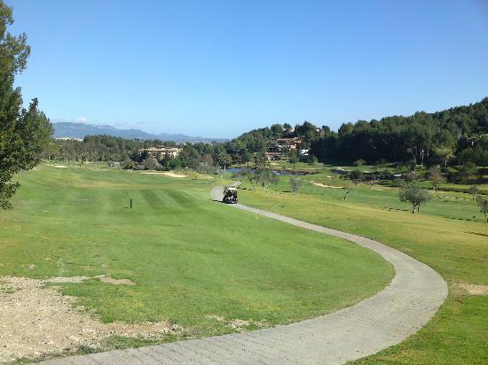 Golf Son Vida: Loch 13 bis 18 sehr offen