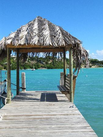 The Verandah Resort & Spa : Quai d'embarquement à la petite plage