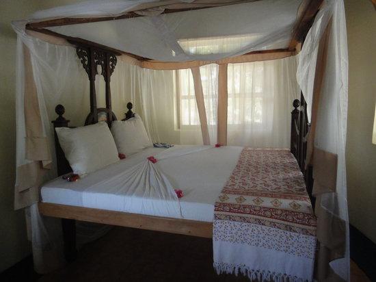 Sun and Seaview Bungalows: la chambre