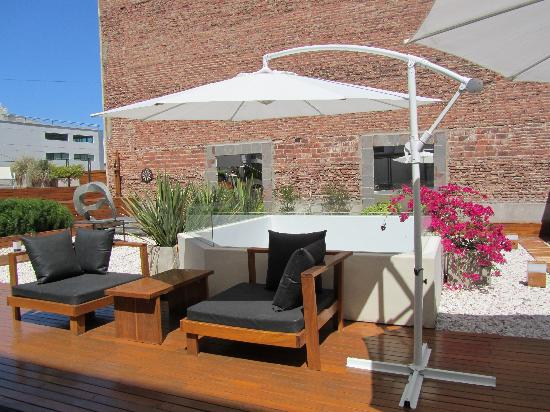 Azur Real Hotel Boutique: beautiful roof terrace