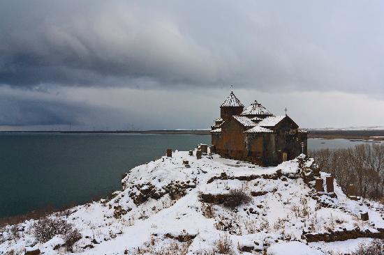 Lake Sevan, Armenien: Hayravank monastery