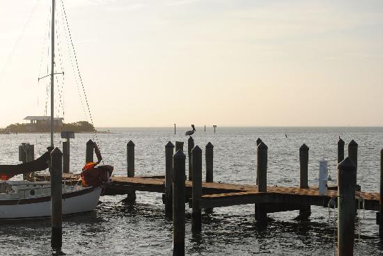 Barnacle Restaurant: the dock
