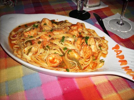 Paprika : Seafood pasta