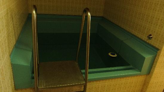 Semmering, Autriche : Sauna-Eisbecken, originall erhalten seit den 60er Jahren