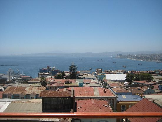 Hotel Boutique Acontraluz: view from the top floor balcony