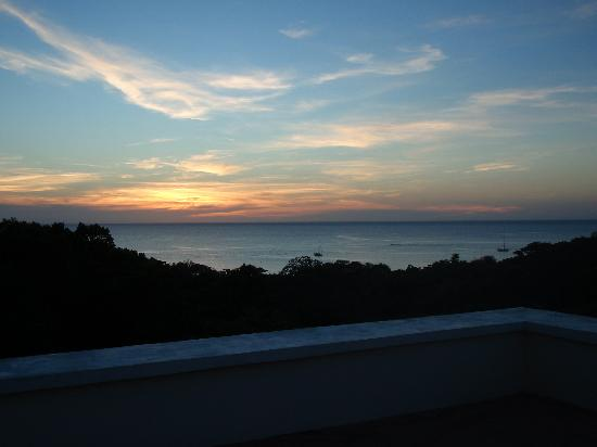 Villa Delfin Roatan: View from roof top