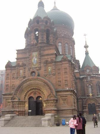 Харбин, Китай: santa sofia
