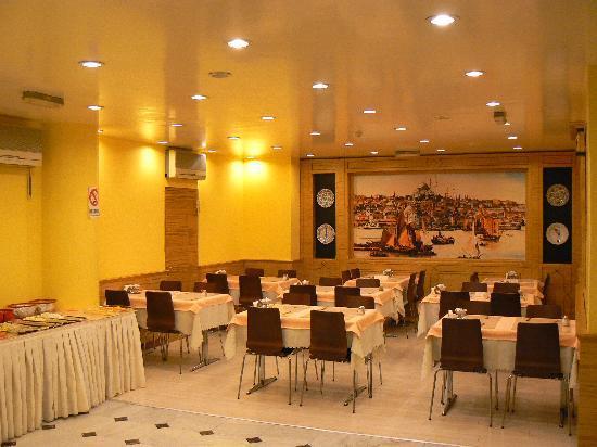 Hotel Inter Istanbul : Breakfast Hall