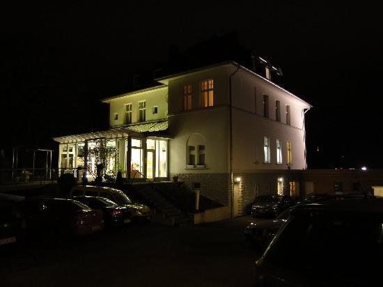 Hotel Villa Hugel: das Hotel