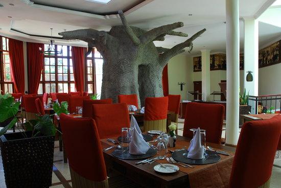 The Baobab Restaurant: Restaurant