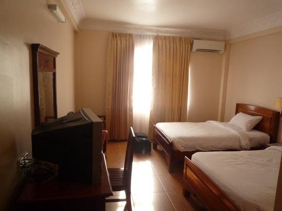 โรงแรมอังกอร์ เพิร์ล: Our hotel room