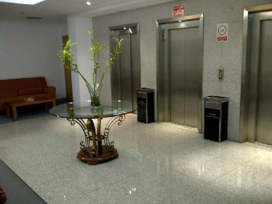 Tryp Alameda: Descansillo ascensor planta 3