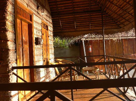 Keraleeyam Ayurvedic Resort: Keraleeyam balcony of lake view room