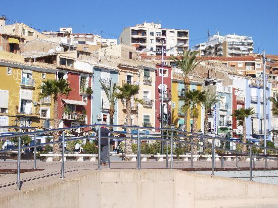 Villajoyosa, Spain: Casas tipicas