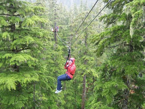 Alaska Zipline Adventures: Ziplining in Juneau Alaska