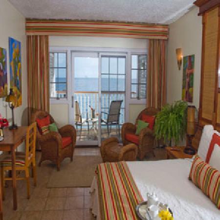 Fort Young Hotel: Deluxe Oceanfront Room