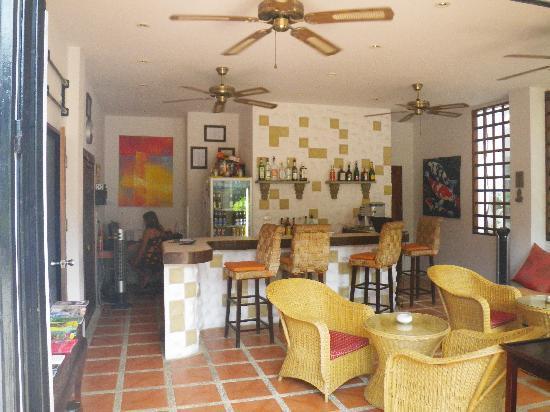L' Hacienda: Accueil de l'hotel