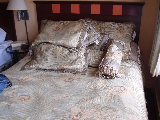 Gilmore Hotel: Uno dei due letti matrimoniali