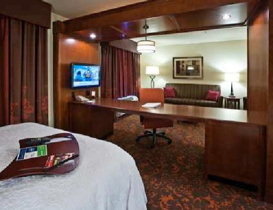 Hampton Inn & Suites Holly Springs: King Studio Suite