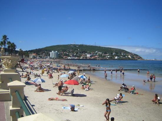 Piriapolis, Uruguay: la playa