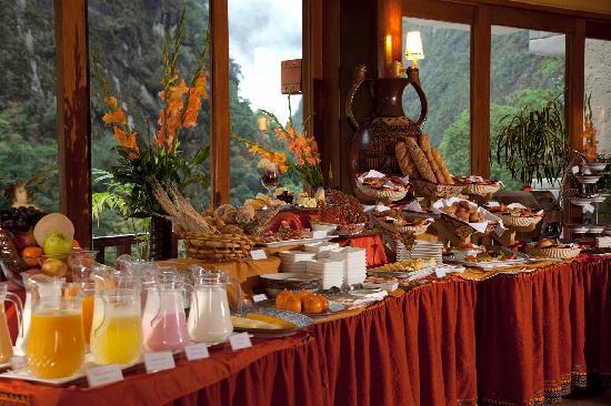 SUMAQ Machu Picchu Hotel: Buffet Breakfast