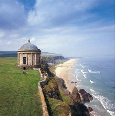 Giant's Causeway Visitor Centre: Mussenden Temple