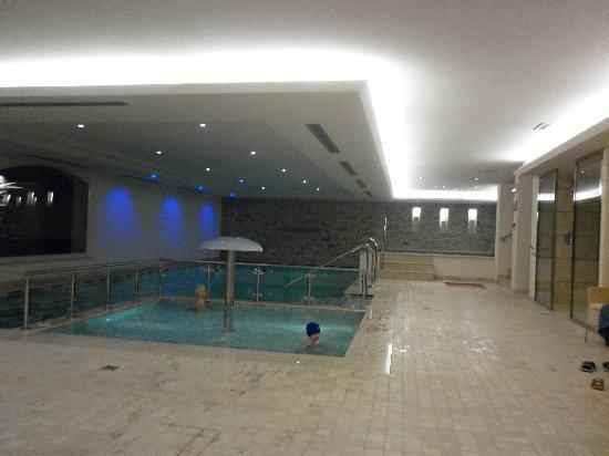 Beverly Hotel: La piscina interna