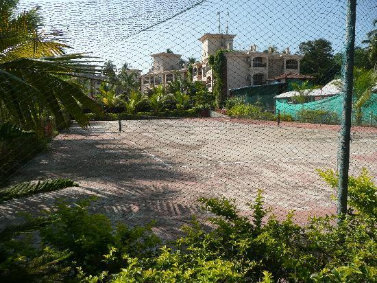 Sun City Resort: tennis court