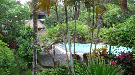 Puri Kelapa Garden Cottages: view of pool
