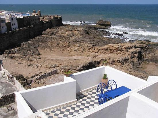 Dar Al Bahar : Terrace view of the ocean