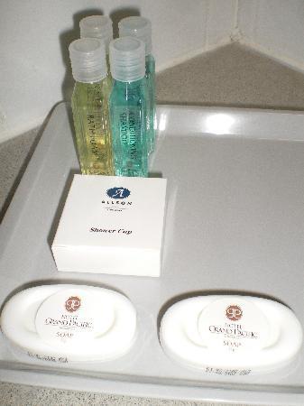 Grand Pacific Hotel: Badezimmerartikel