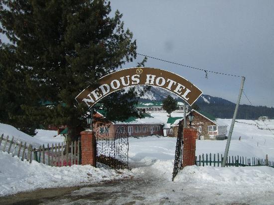 Nedou's Hotel: Main entrance