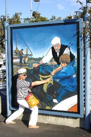Sausalito, كاليفورنيا: Victoria's artwork