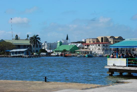 Ciudad de Belice, Belice: Belize City from the Ship's Dock