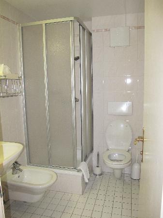 Pension Aviano: Bathroom