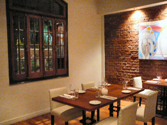 Florentino Bistro: One of the inside dining rooms