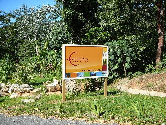 Media Luna Resort & Spa: nom l'hotel