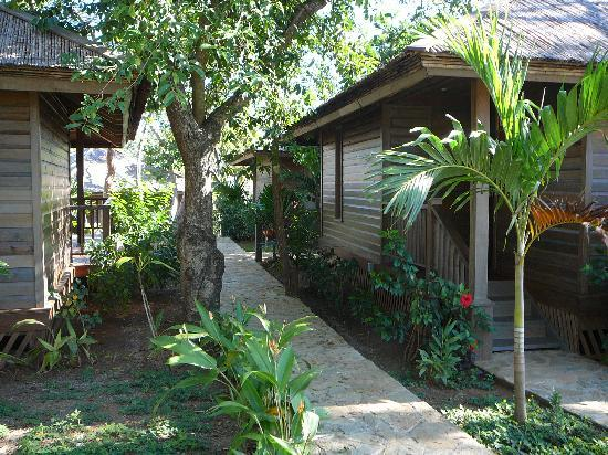 Media Luna Resort & Spa: cabane